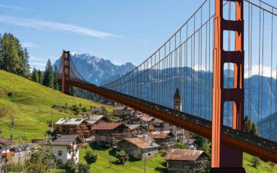 Ponte a Falcade Dolomiti
