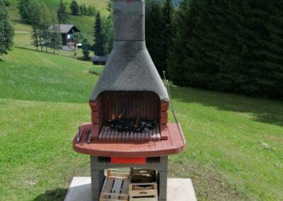 Area barbecue - Piccola Baita Falcade